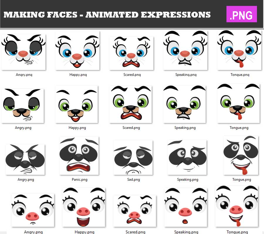 making-faces-animated-expression